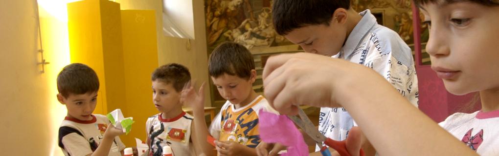 Laboratori per scoprire il patrimonio degli Innocenti e di Firenze. Per ragazzi dai 3 agli 11 anni